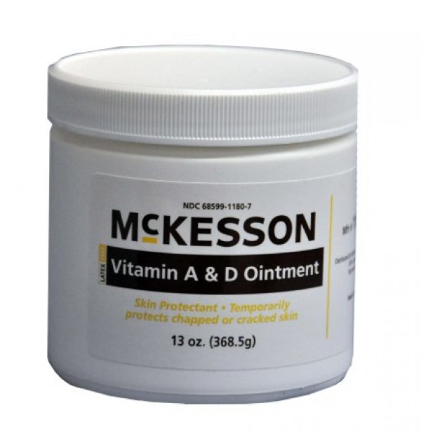 McKesson Skin Protectant Ointment with Vitamin A & D