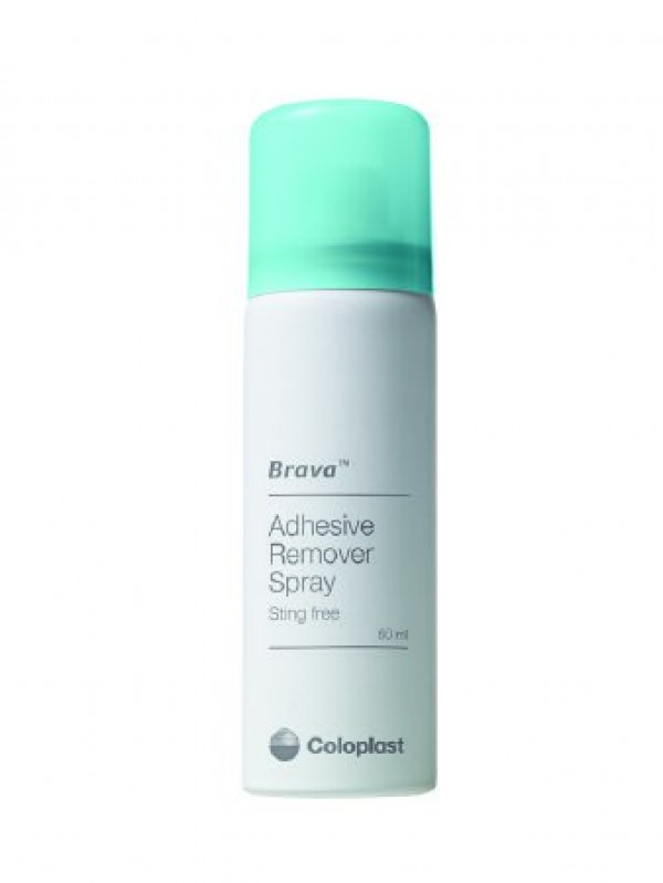 Coloplast Brava Adhesive Remover Spray and Wipes