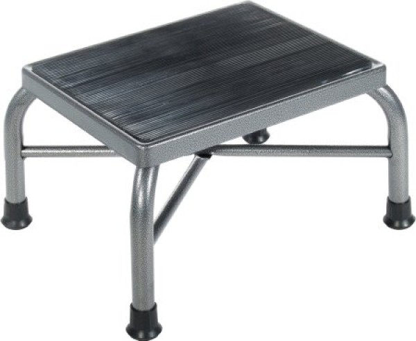 Drive Medical Heavy Duty Footstool with Non Skid Rubber Platform