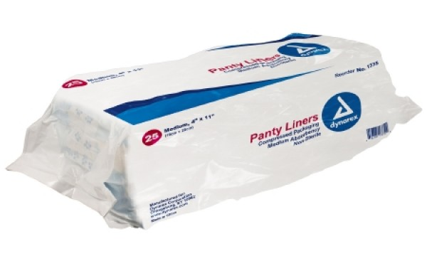 Panty Liners by Dynarex