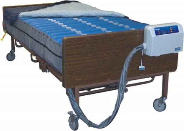 Drive Medical Med-Aire PLUS Bariatric Alternating Pressure Low Air Loss Mattress System 42 Wide