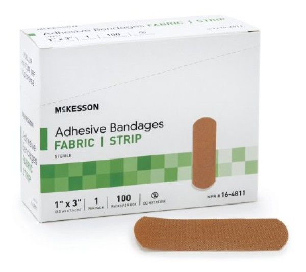 McKesson Adhesive Rectangle Performance Bandage by Medi-Pak