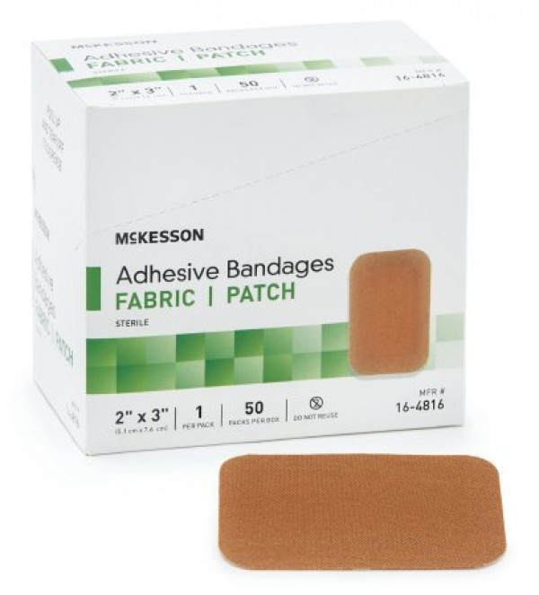 McKesson Performance Adhesive Fabric Strip Bandages by Medi-Pak