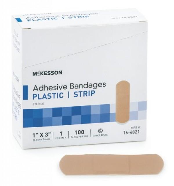 McKesson Performance Adhesive Strip Bandages by Medi-Pak