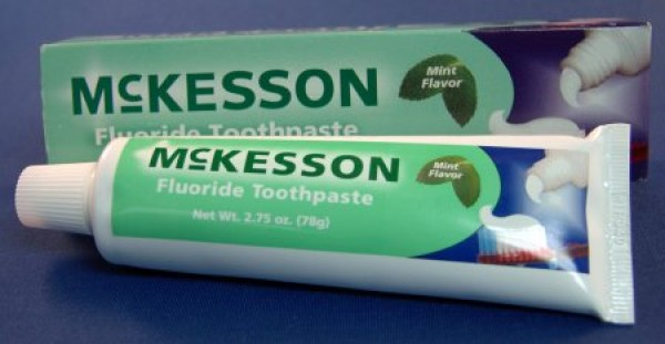 Mint Flavor Toothpaste by McKesson