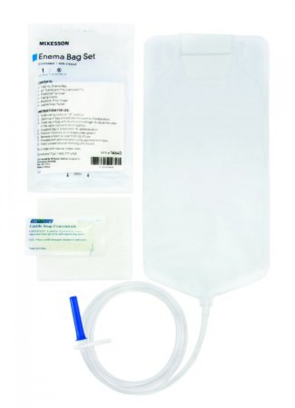McKesson Enema Bag Set by Medi-Pak