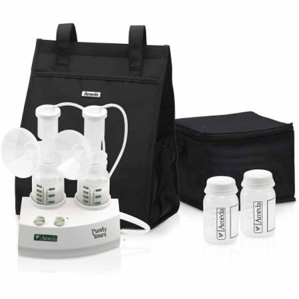 Purely Yours Carry All Double Electric Breast Pump by Ameda