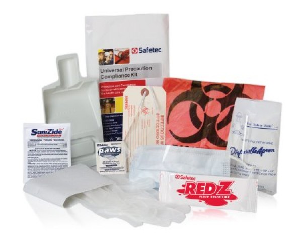 Safetec Spill Clean Up Universal Precautions Compliance Kit
