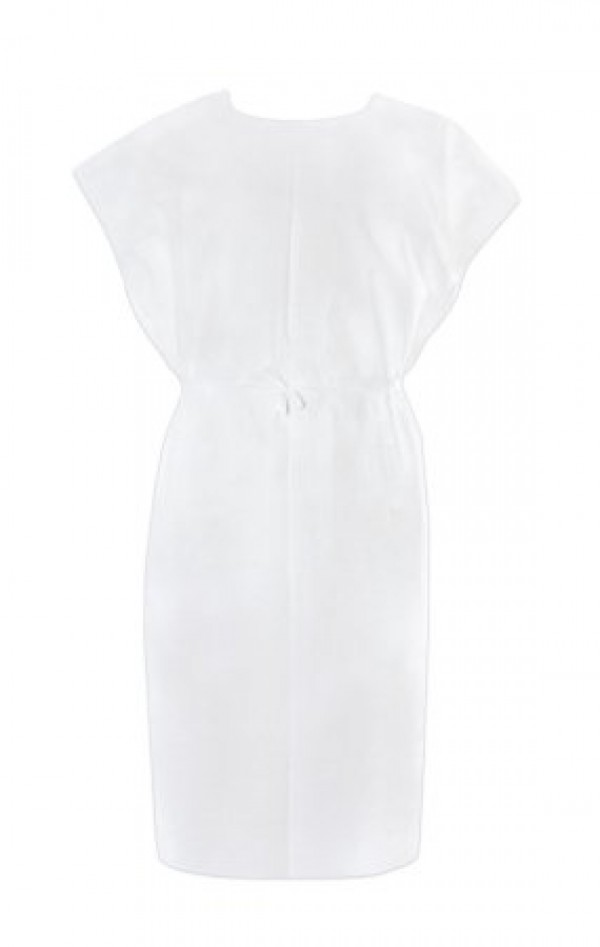 McKesson Poly Tissue Exam Gown