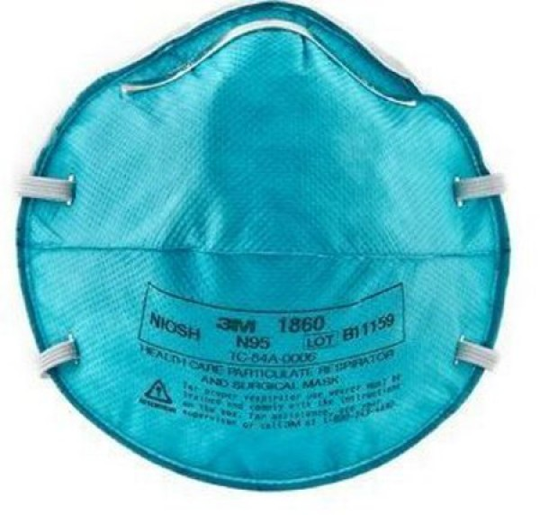 1860 Mask N95 Surgical Respirator by 3M