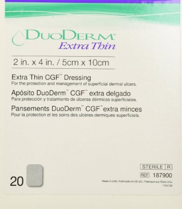ConvaTec DuoDERM Extra Thin CGF™ Wound Dressing by Convatec