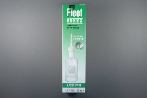 Enema Sodium Phosphate Saline Laxative for Adults by Fleet
