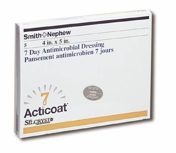 Smith & Nephew Acticoat 7 Day Antimicrobial Dressings