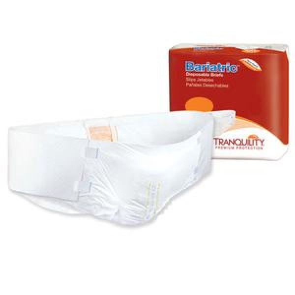 Tranquility Principle Business Tranquility Bariatric Brief 3X-Large Super Absorbency