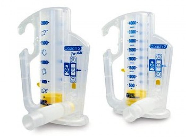 Smiths Medical Coach 2 Incentive Spirometer 22-2500