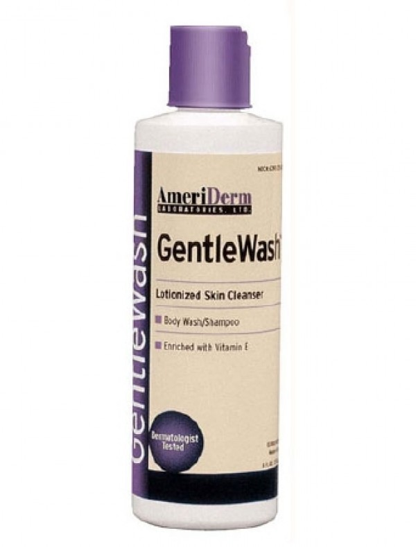 Ameriderm Laboratories AmeriDerm GentleWash Body Wash Shampoo 8 Oz