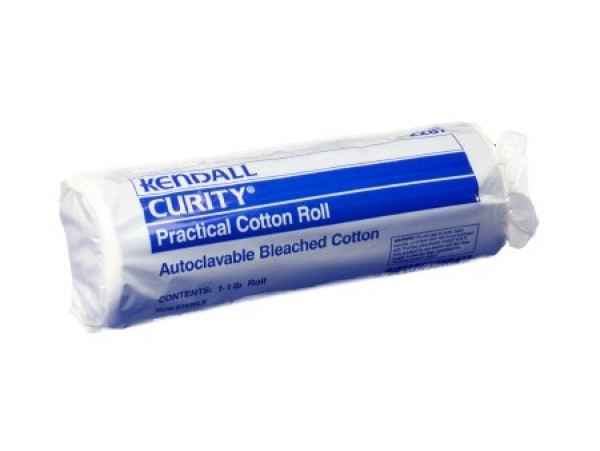 Covidien Kendall 2287 CURITY Practical Cotton Rolls 12 x 56 Inch - Covidien