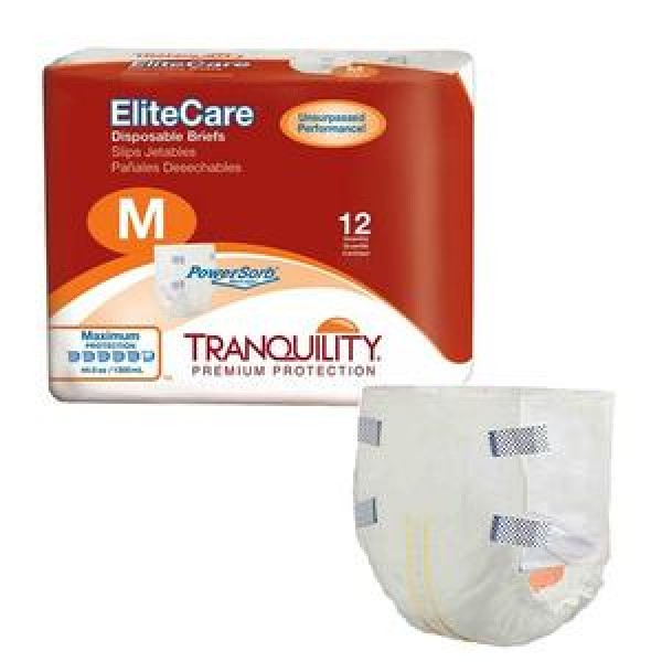 Tranquility Principle Business Tranquility EliteCare Briefs Super Absorbency