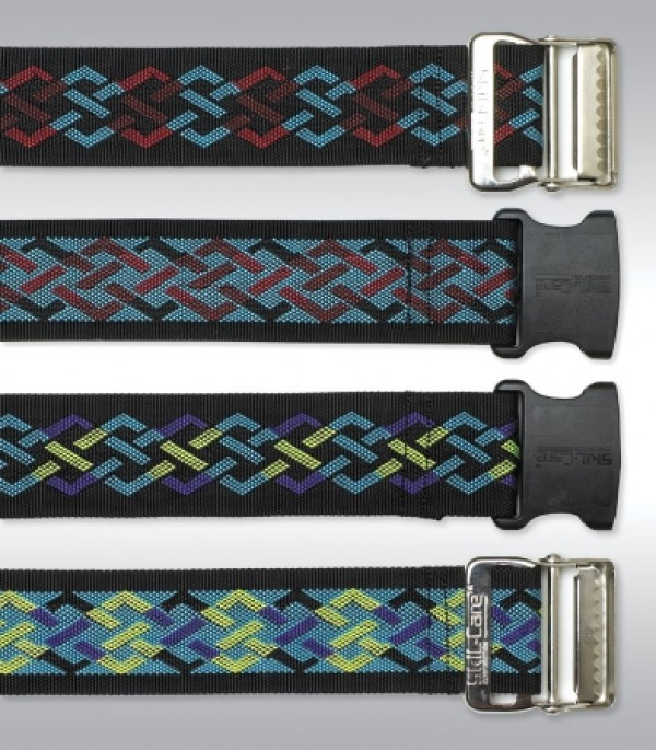 Geo-Pattern Gait Belts for Lifting Ambulating Transferring Patients by Skil-Care