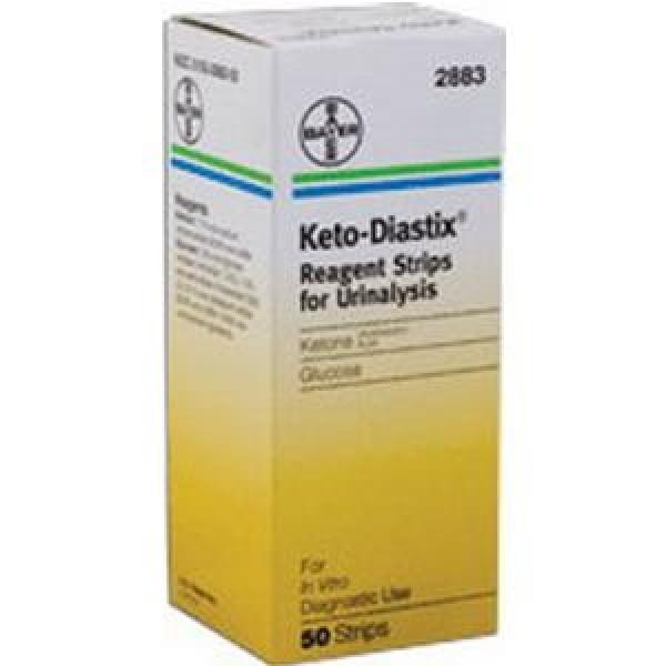 Bayer Keto Diastix Reagent Strips