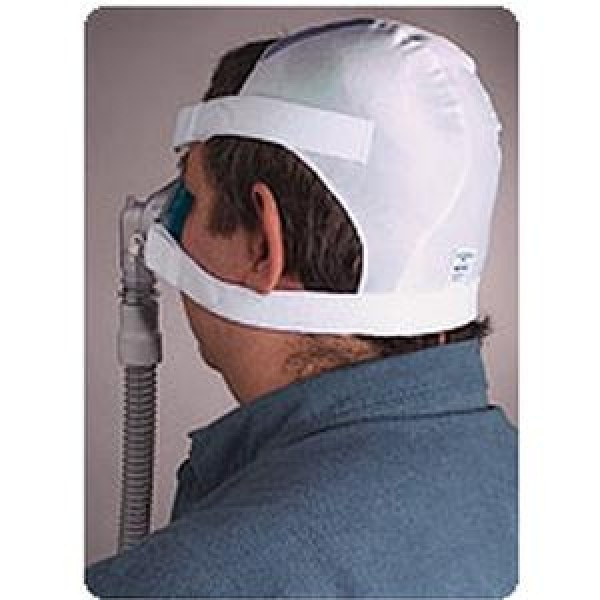 Cpap Headgear Softcap White Large by Respironics