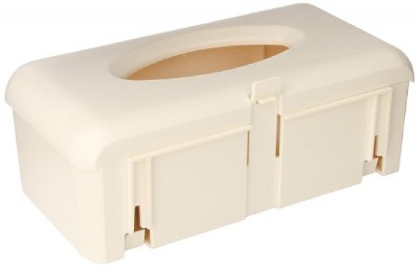 BD Becton Dickinson Ivory Glove Box with Bracket