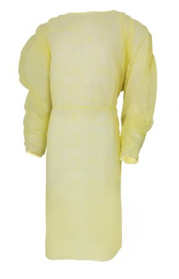 McKesson Yellow Isolation Gown