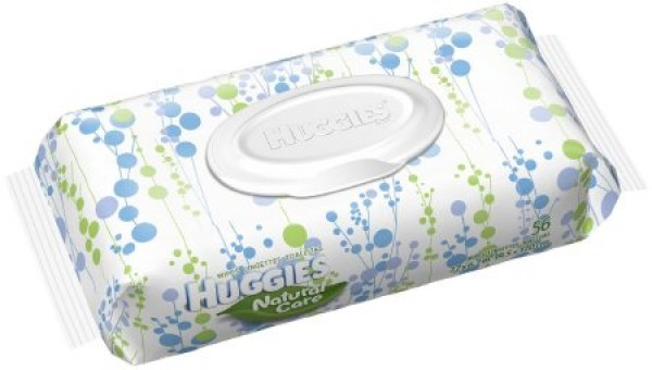 Kimberly Clark Huggies Natural Care Baby Wipes - Unscented