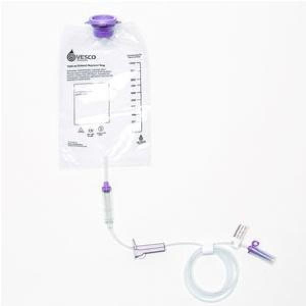 Vesco Medical Gravity Feed Bag Set with ENFit