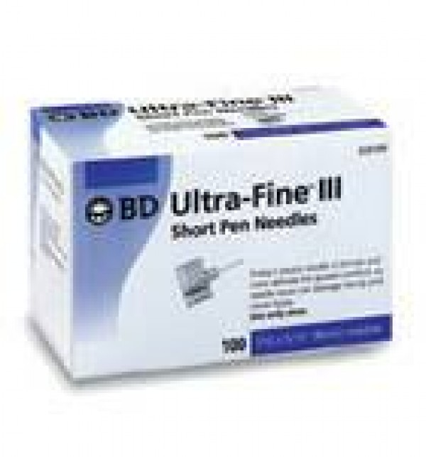 BD Becton Dickinson BD Ultra Fine III Short Insulin Pen Needles