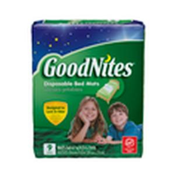 Kimberly Clark GoodNites Bed Mats Disposable Underpads