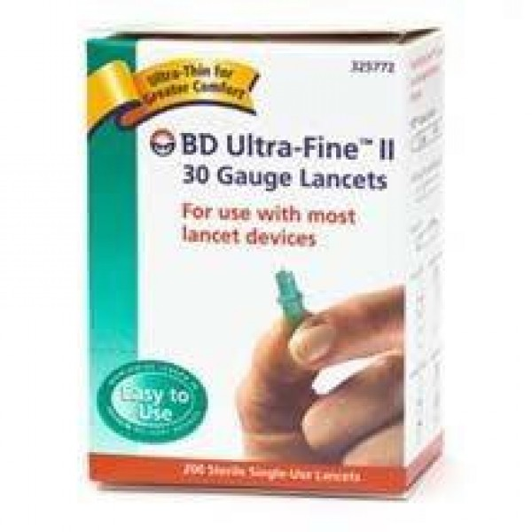 BD Becton Dickinson BD Ultra Fine II Lancet