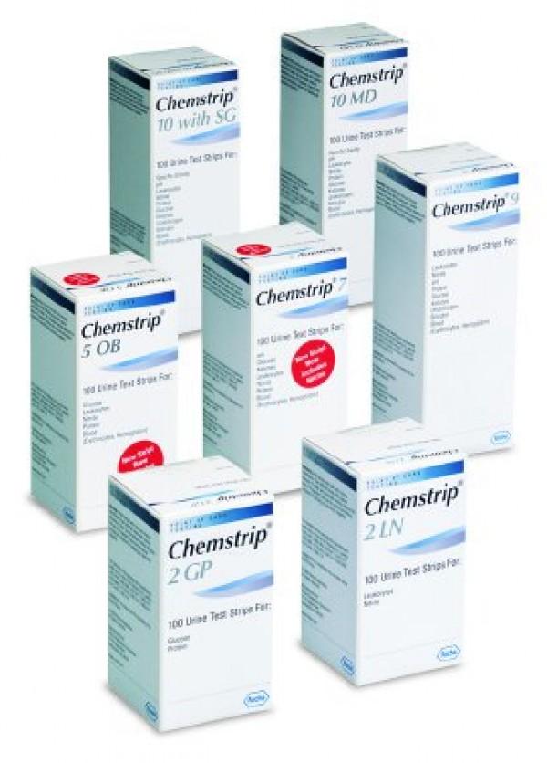 Roche Chemstrip Urine Reagent Strips