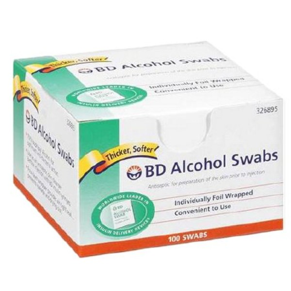 BD Becton Dickinson BD Isopropyl Alcohol Swabs