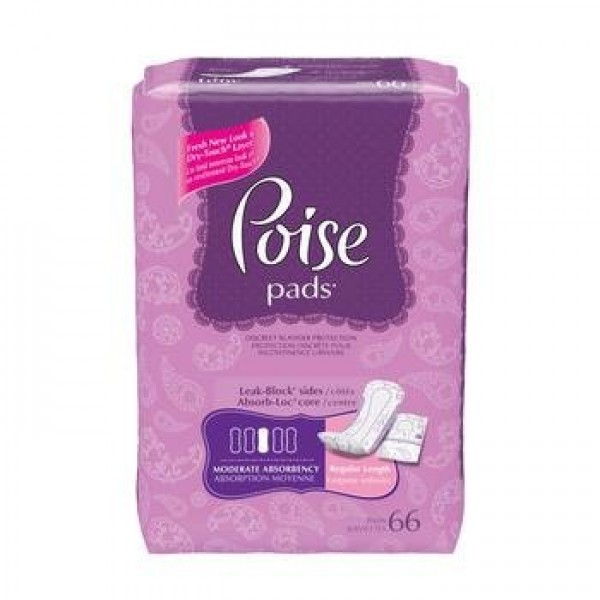 Kimberly Clark Poise Moderate Absorbency Pads
