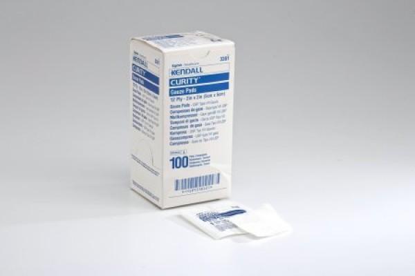Covidien Curity Gauze Sterile Pads