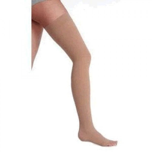 3511AG Dynamic Garter Style Thigh High Compression Stockings OPEN TOE 20-30 mmHg by Juzo