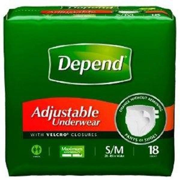 Kimberly Clark Depend Adjustable Underwear