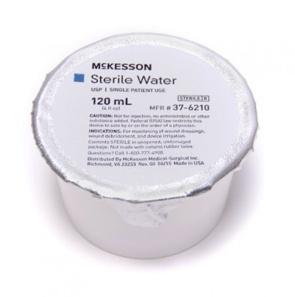 McKesson Sterile Water Irrigation Solution