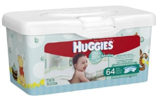 Kimberly Clark Huggies One and Done Refreshing Baby Wipes