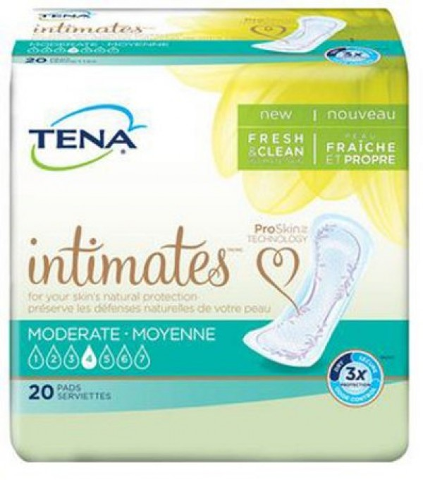 SCA TENA Serenity Pads Moderate Absorbency REGULAR