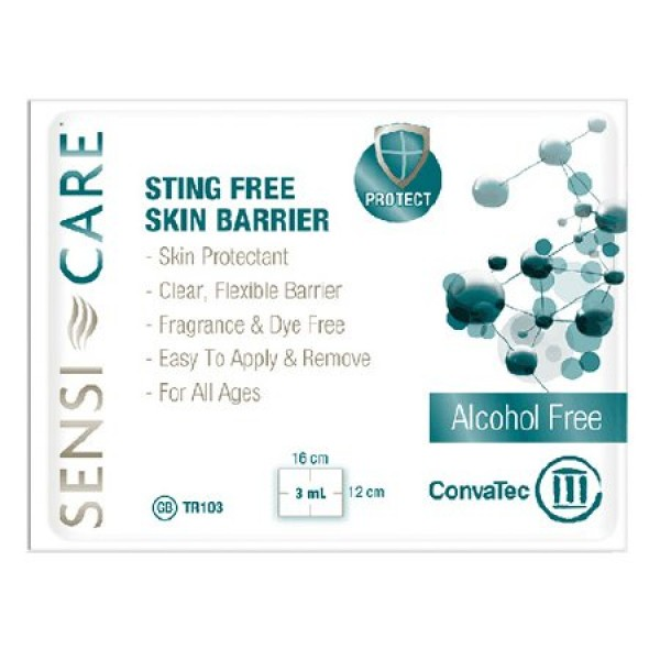 ConvaTec Sensi-Care Sting-Free Skin Barrier Wipe