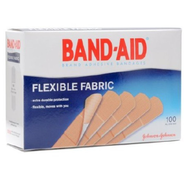 Johnson & Johnson Band-Aid Adhesive Bandage Strips