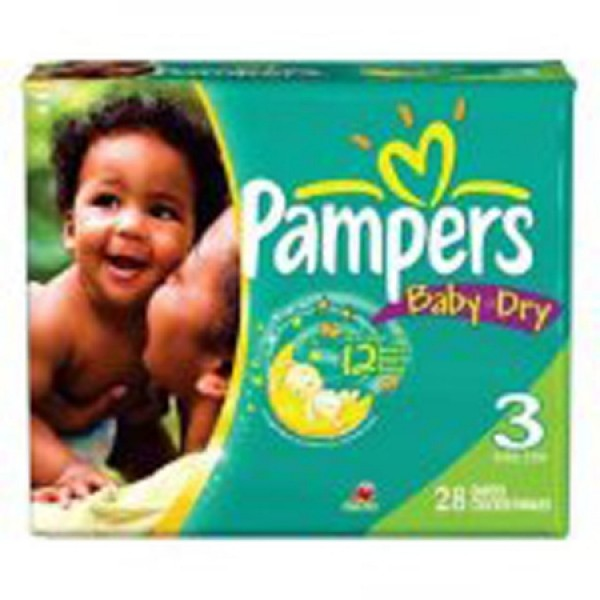 Procter & Gamble Pampers Baby Dry Diapers