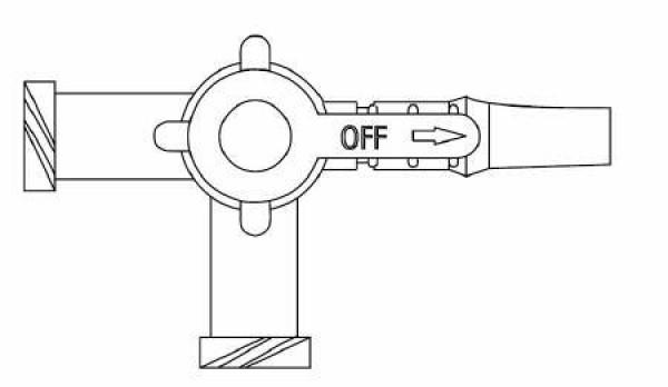 Braun Discofix 3-Way Stopcock