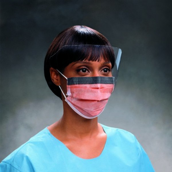 Kimberly Clark FluidShield Procedure Mask w/ Face Shield