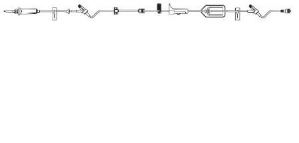 Braun Infusomat Space Pump IV Set ULTRASITE