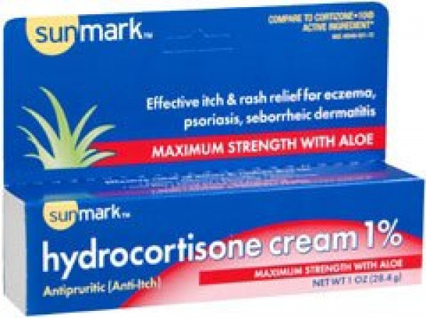 McKesson Hydrocortisone 1% Anti-Itch Cream - 1 Ounce Tube