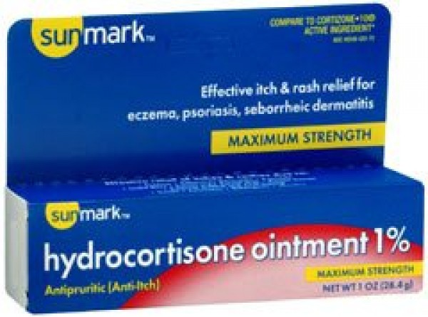 McKesson Hydrocortisone Maximum Strength Itch Relief Ointment by Sunmark