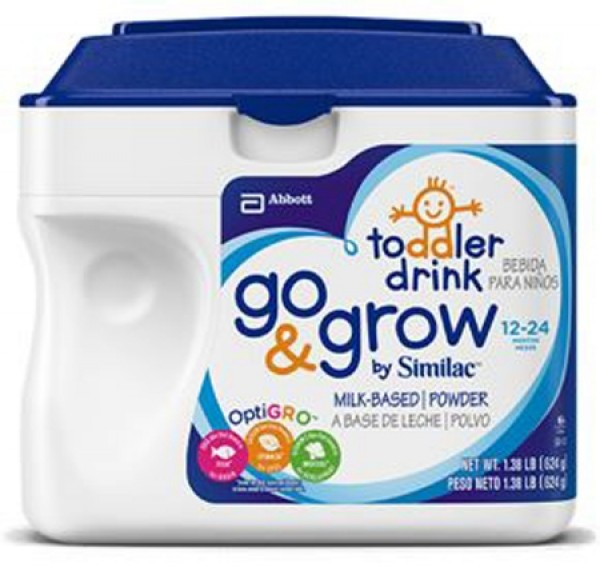 Abbott Nutrition Similac Go & Grow Infant Formula Milk-Based